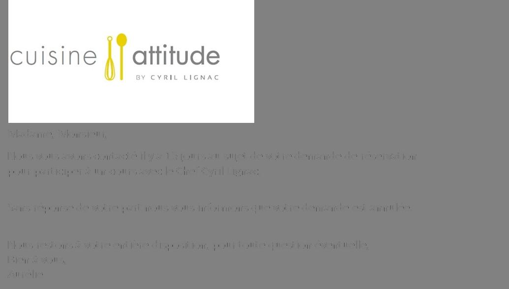 Le blog de cyril lignac - Cuisine attitude lignac ...