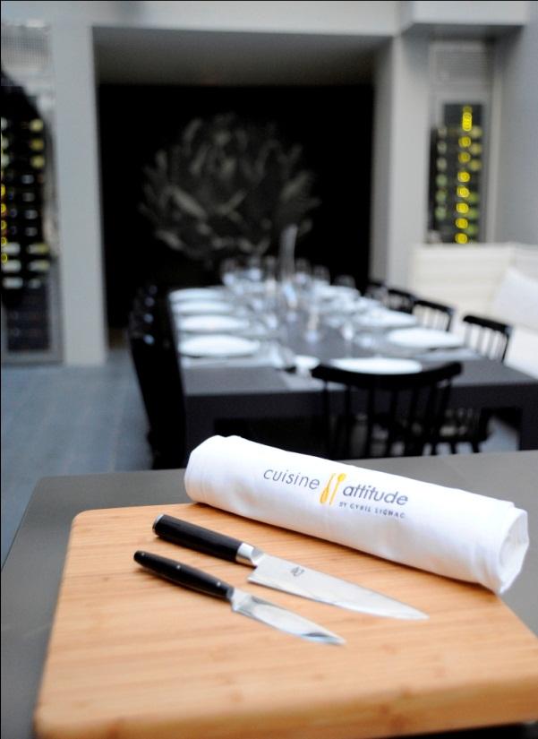 Equipe Cuisine Attitude Le Blog De Cyril Lignac - Cours de cuisine paris cyril lignac