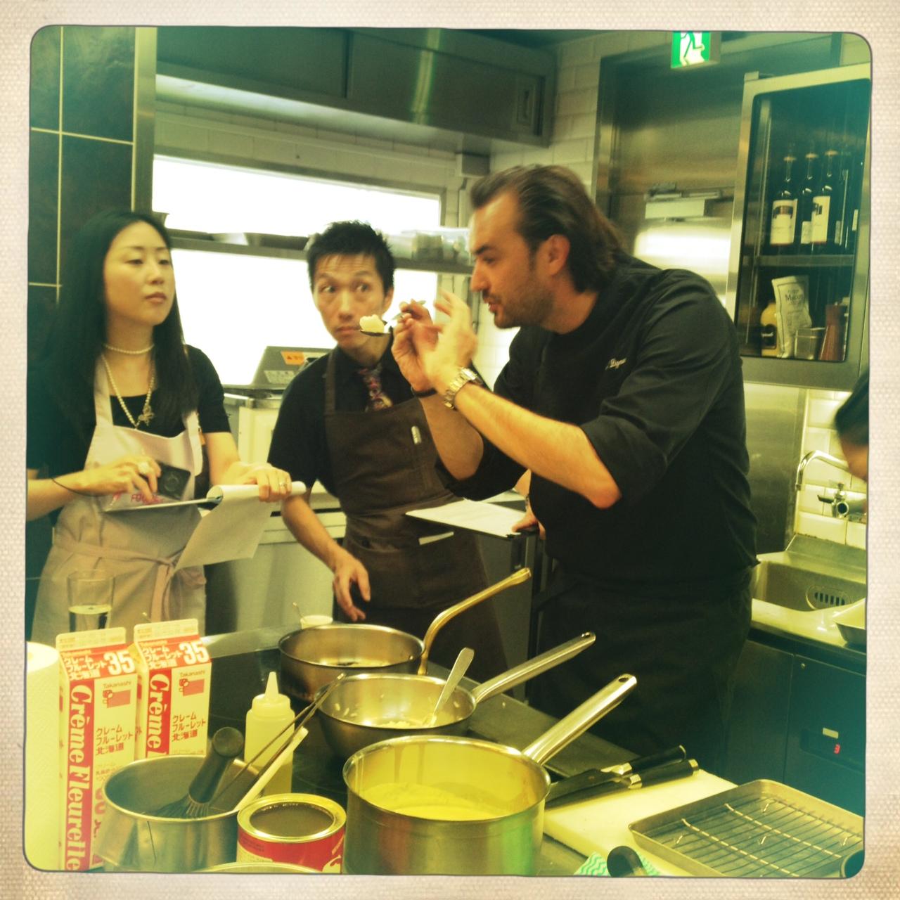 Le chef au japon le blog de cyril lignac - Cours de cuisine cyrille lignac ...