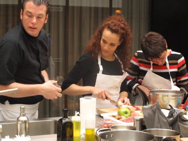 Norbert tarayre fait son show chez cuisine attitude le blog de cyril lignac - Cours de cuisine norbert ...