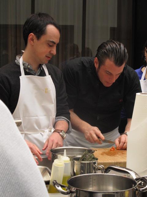 Norbert tarayre fait son show chez cuisine attitude le blog de cyril lignac - Cours de cuisine cyrille lignac ...