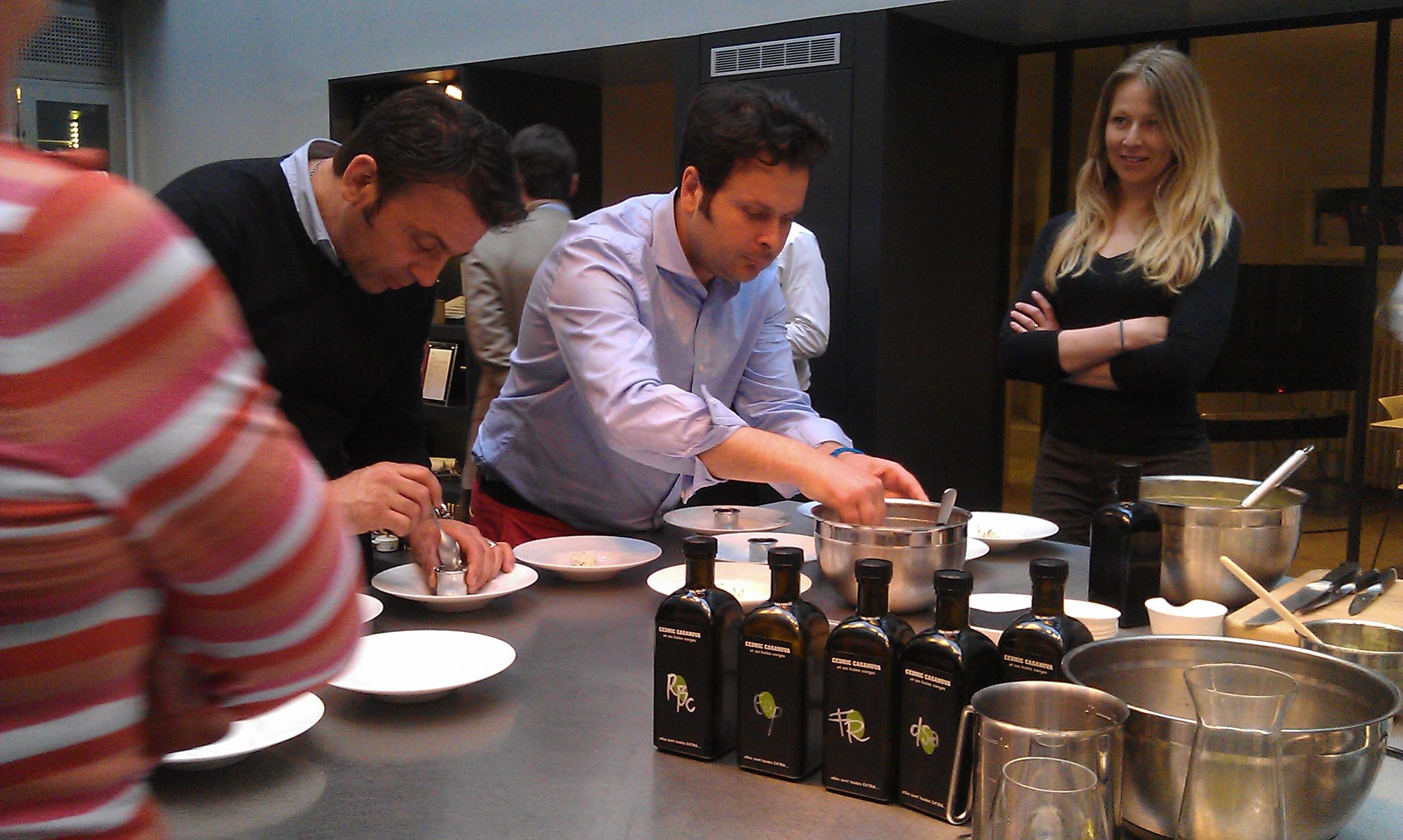 C dric casanova le ma tre des olives l atelier le - Cuisine attitude lignac ...