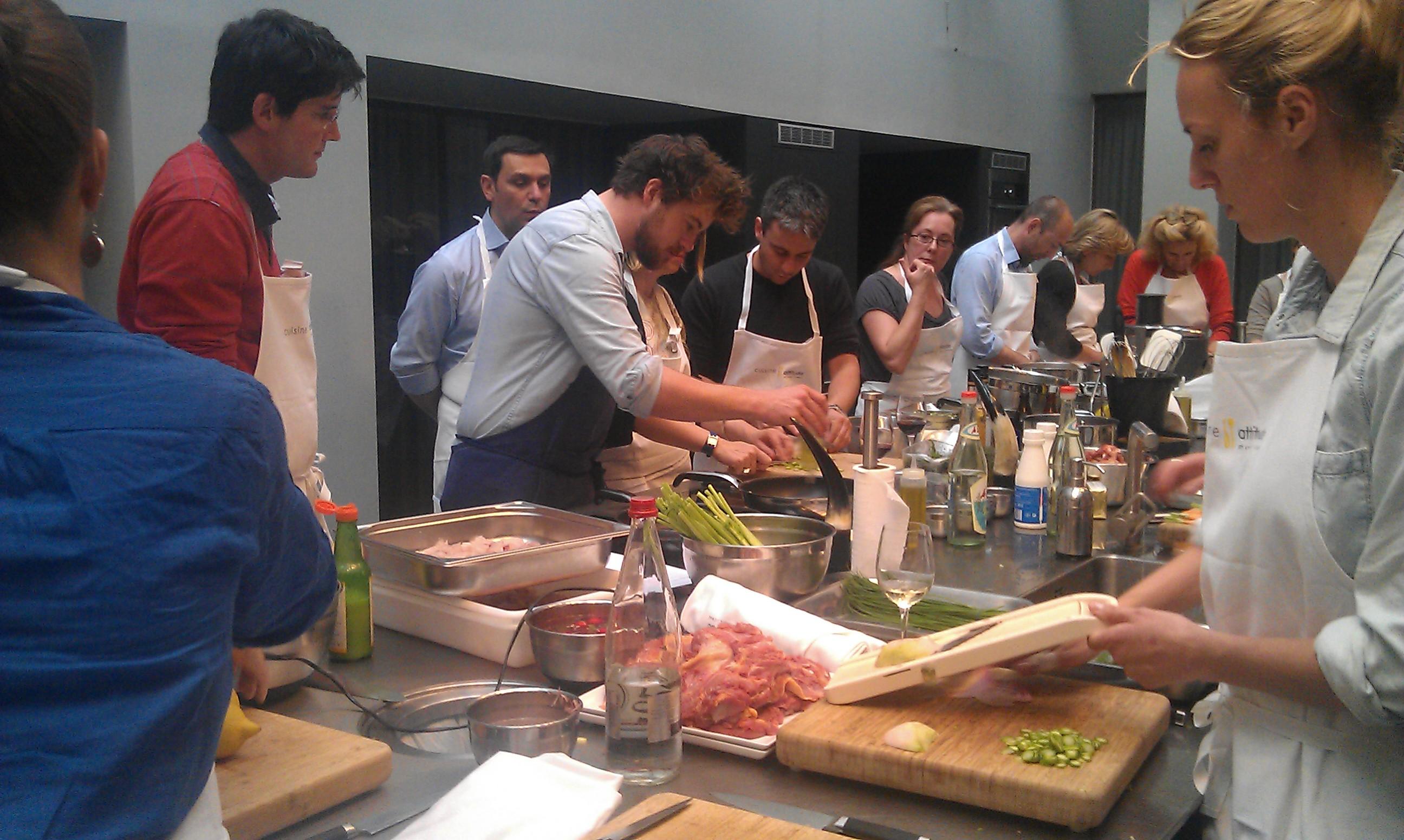 Cours de cuisine avec cyril lignac cool superior cours de - Offrir un cours de cuisine avec cyril lignac ...
