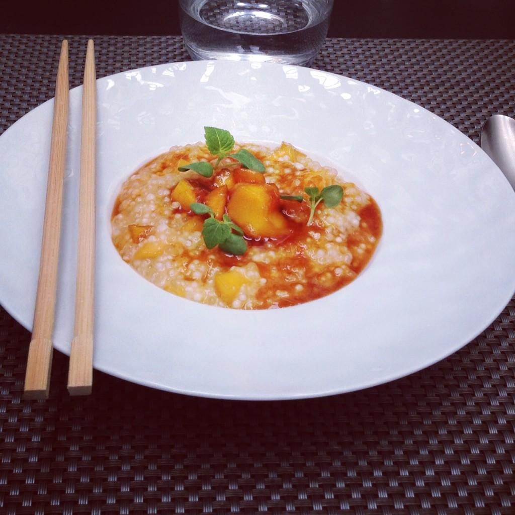Perles du japon au lait de coco et mangues caram lis es le blog de cyril lignac - Cuisine attitude cyril lignac ...
