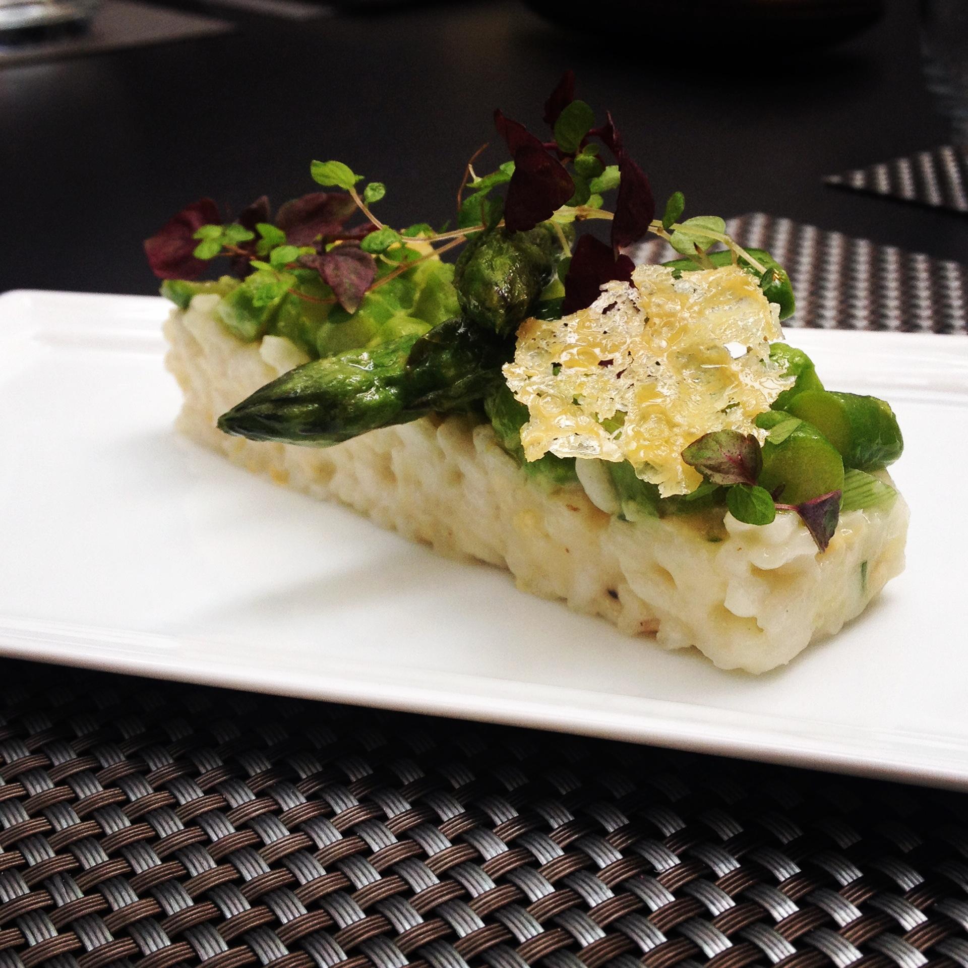 risotto traditionnel aux pointes d asperges vertes le blog de cyril lignac. Black Bedroom Furniture Sets. Home Design Ideas